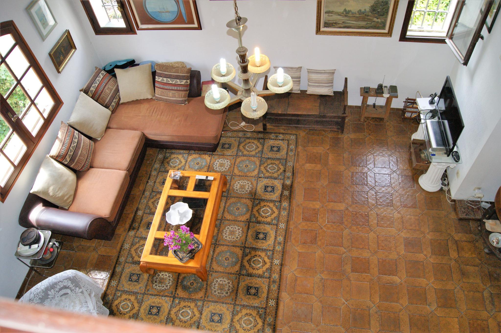 salon principal vue de la mezzanine