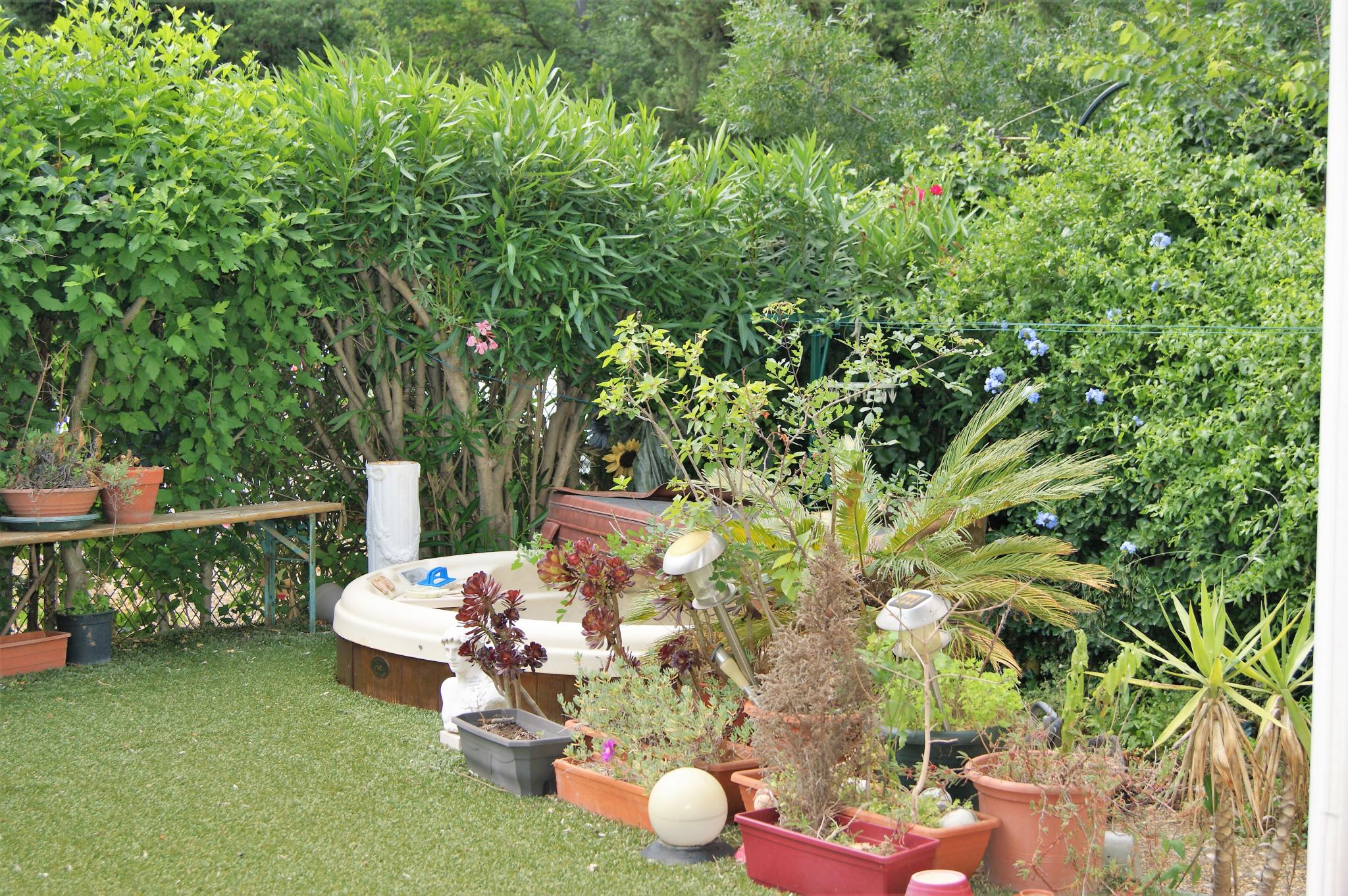 Jardin au calme sans vis à vis