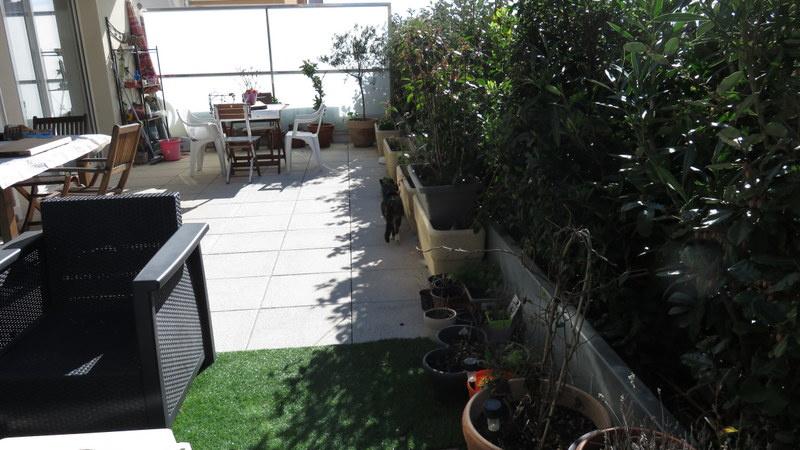 Terrasse de 30 m²