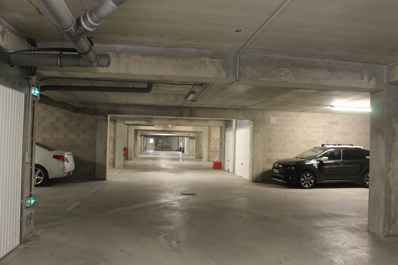 Parking privatif couvert